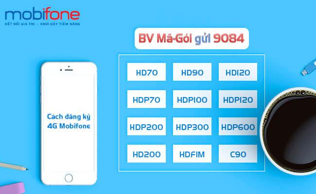 Cách đăng ký 4G MobiFone với các gói cước từ A->Z