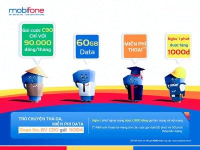 Gói Cước C90 MobiFone