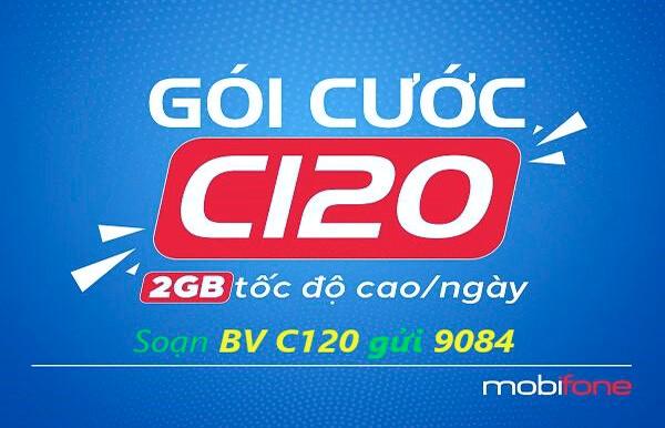 Gói Cước C120 MobiFone
