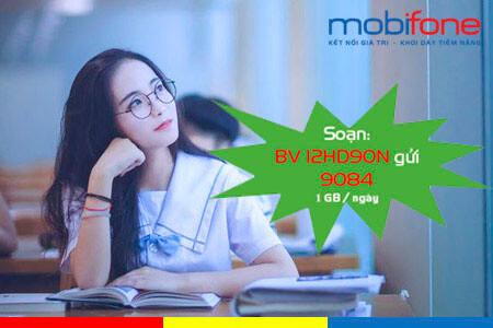 Cách đăng ký gói cước 12HD90N MobiFone nhận ưu đãi 360GB dùng 1 năm