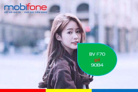Đăng ký gói cước F70 MobiFone chỉ với 70.000đ có ngay 7GB